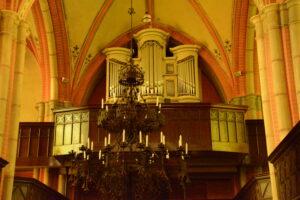Orgel der Stadtkirche Laage
